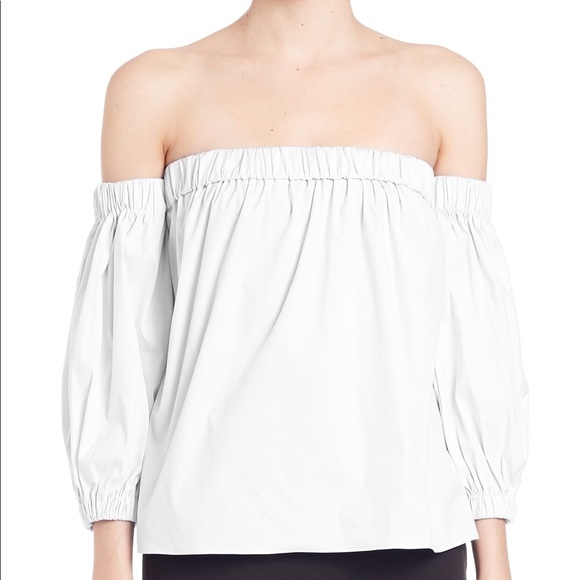 a13cfe7f415c3 Off the Shoulder Top. NWT. Milly